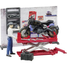 MOTORCYCLE WORKSHOP BRUDER SPIELWAREN MODELL