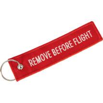 REMOVE BEFORE FLIGHT KULCSTARTÓ