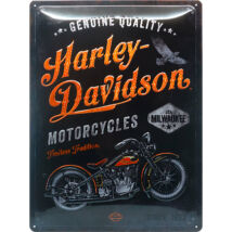 HARLEY-DAVIDSON RETRO TÁBLAKÉP