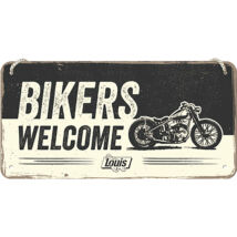 BIKERS WELCOME TÁBLAKÉP