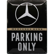 MERCEDES-BENZ PARKING ONLY TÁBLAKÉP