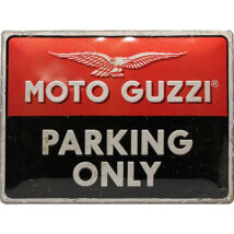 MOTO-GUZZI PARKING ONLY TÁBLAKÉP