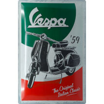 VESPA 59 RETRO TÁBLAKÉP