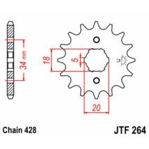 JT LÁNCKERÉK JTF264