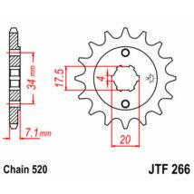 JT LÁNCKERÉK JTF266
