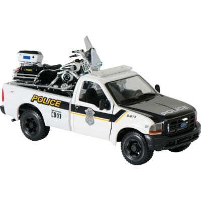 POLICE PICKUP ELECTRA GLIDE HARLEY-DAVIDSON MODELL